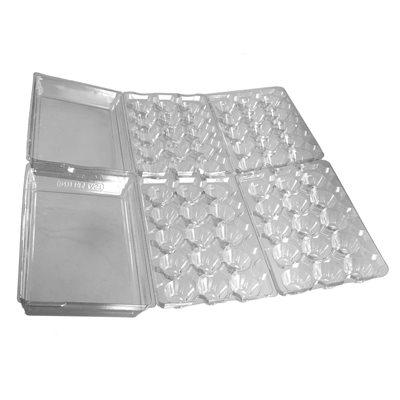 Cartons oeufs de cailles (2 X 15 Oeufs)