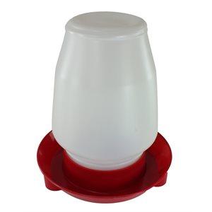 Abreuvoir plastique 1 gallon complète