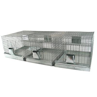 Cage à chinchilla avec tiroirs