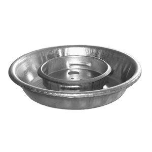 Abreuvoir en métal pour pot Mason