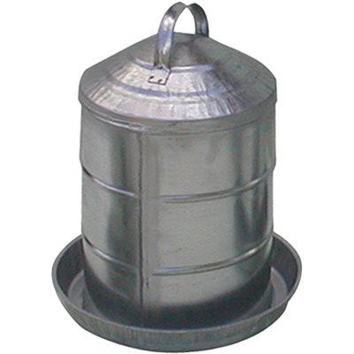 Fontaine en métal 3 gallons