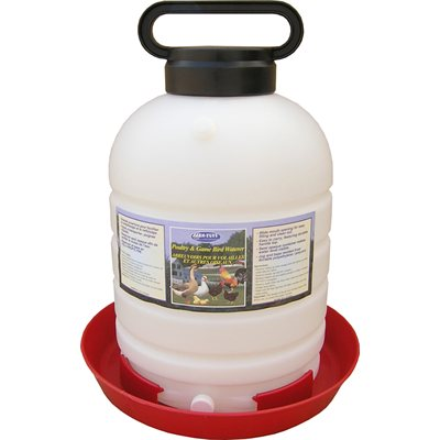 5 Gallon Top-Fill Poultry Fountain
