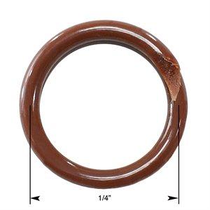 """Brown Ring ¼"""""""
